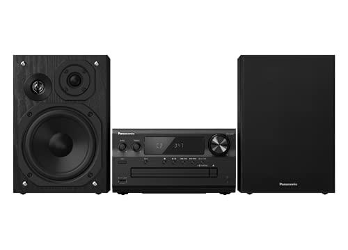 Panasonic SC-PMX802E-K Premium - Microcadena (Airplay, Bluetooth, Dab+, CD, FM, 120 W RMS), Color Negro