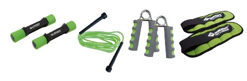 Schildkröt Fitness Fitness-Set, 7-teiliges Set, in 4-Farb Karton, 960029