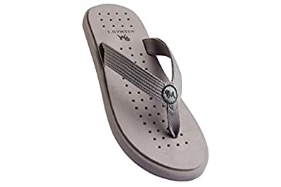 Neeman's Eco Slippers for Men, Boys   Lightweight Flips   Wear With Comfort ( Pebble Grey)