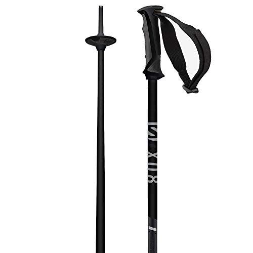 Salomon Skistöcke, Unisex, 125 cm, Aluminium, X 08, schwarz, L40827000