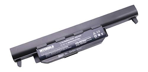 INTENSILO batería Li-Ion 6000mAh (10.8V) para Notebook ASUS A45VS, A55A, A55D, A55DE, A55DR, A55N, A55V, A55VD y A32-K55, A33-K55, A41-K55.