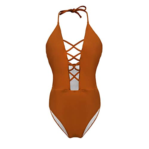 FRAUIT Costume Intero Donna Brasiliana Bikini Ragazza Triangolo Push Up Trikini Mare Contenitivo Costumi Interi Particolari Costume da Bagno Calzedonia Trasparente Piscina Spiaggia Swimwear