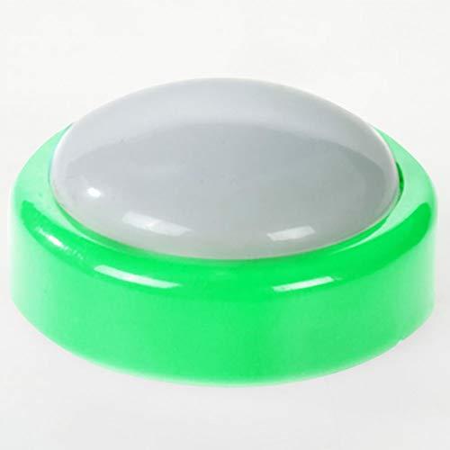 Modonghua Luz LED inalámbrica para disco – LED tipo botón de actividad, luz de control táctil, 3 pilas AAA, luz debajo del gabinete para armario de cocina