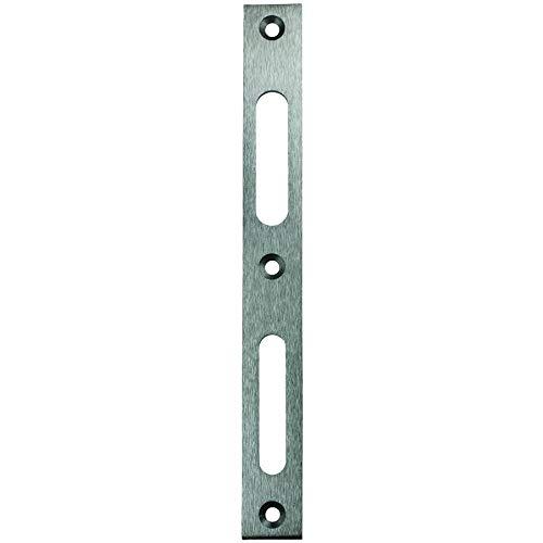 Secureo Edelstahl-Flachschließblech FLB 946 käntig | DIN-links & DIN-rechts | 215 x 24 x 3 mm