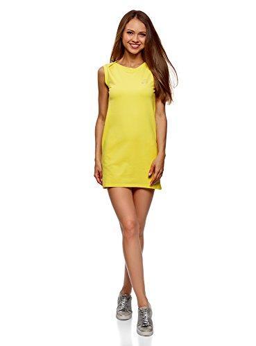 Vestido corto amarillo de fiesta y para celebraciones