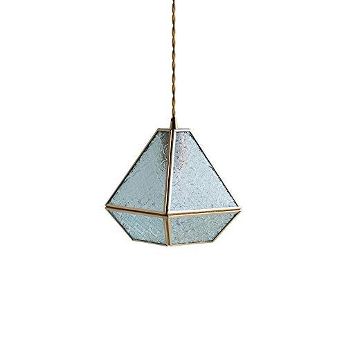 YXLMAONY Luz de araña moderna con lámparas de cristal duraderas Lámpesas de...
