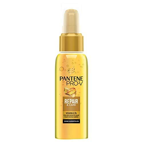 Pantene Pro-V Repair & Care Haaröl Mit Vitamin-E, 100 ml, für Geschädigtes Haar, Haarpflege Glanz, Haarpflege Trockenes Haar, Haarpflege für Trockene Haare, Haarpflege, Haaröl, Haar Öl, Gold