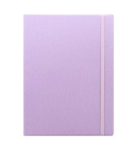 Filofax Notebook Classic Pastels A4 Orchid Violet Notizbuch nachfüllbar Kunstleder 115095