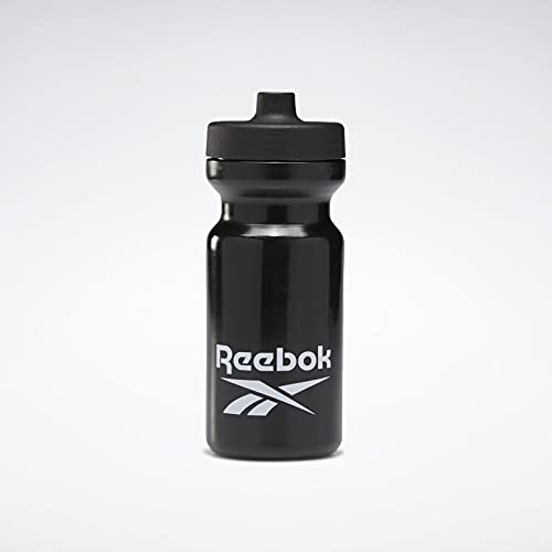 Reebok TE Bottle 500 Botella Fitness y Ejercicio, Adultos Unisex, Negro(Negro), Talla...