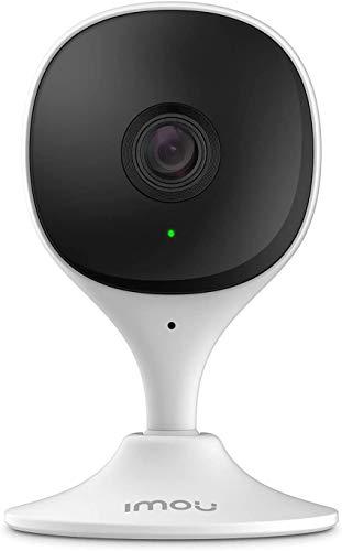 Imou Cámara Vigilancia Bebés WiFi Interior 1080P, Vigilabebes con Visión Nocturna, Alarmas con Detección Humana, Sensor de Movimiento, Detector de Sonidos/llantos, Alexa Cámara Vigilancia, Cue 2C