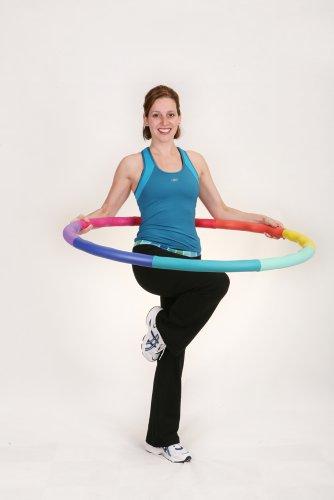 加重フラフープSportsHoop®-アクフラフープ4L-1.81kg大型直径105cm【ダイエットフィットネスエクササイズスポーツフラフープ】
