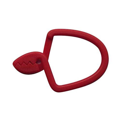 Nsdsb Tea Towel Hanging Clips Metal Clip On Hooks Loops Hand Towel Hanging Pegs 1Pcs Red