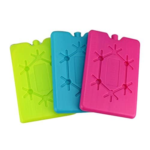 YDLYA Color Fresh-Keep Ice Pack Ladrillos Bloques de congelador Caja de Cristal...