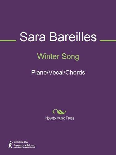 Winter Song Sheet Music (Piano/Vocal/Chords) (English Edition)