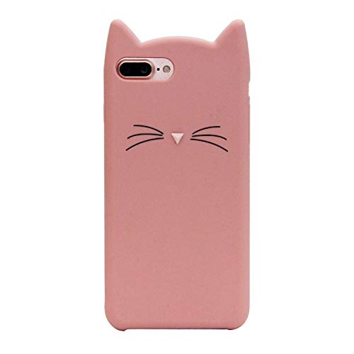 EMF Cute Mouse Case for Samsung Galaxy Plus S10 6.4',3D Cartoon Animal Silicone Rubber Protective Kawaii Funny Character Cover,Animated Fun Cool Skin Case for Kids Teens Girls Guys (Mustache Cat2)
