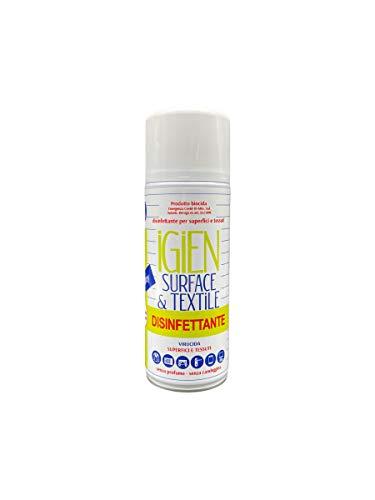Rampi Igien - Disinfettante 75% Alcol Spray Multiuso per Superfici Tessuti Oggetti - Presidio Medico Chirurgico - 1x400ml