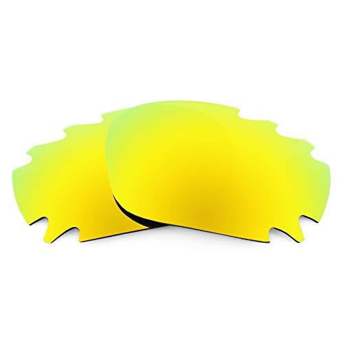 Revant Ersatzgläser für Oakley Jawbone Vented, Polarisiert, Gold MirrorShield