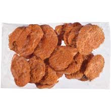 Tyson Red Label Premium Hot N Spicy Fully Cooked Breaded Chicken Breast Filet, 4 Ounce -- 2 per case.