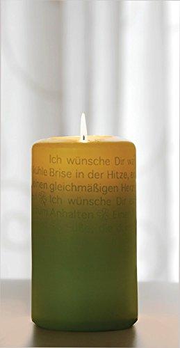 Wortlichtkerze Wortlicht Kerze FÜR DICH