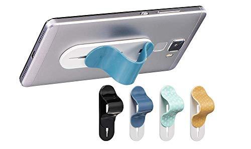 Hama Fingerhalter Griff für Smartphones und Tablets universal Fingerloop Handy Handyhalterung Ständer Halterung Halter