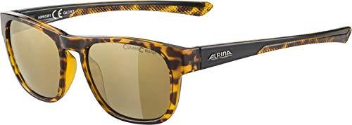 ALPINA Unisex - Erwachsene, LINO II Sportbrille, havana, One Size