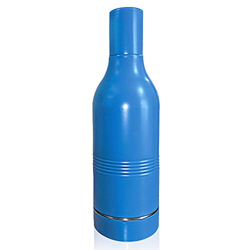 KUULii | Wine & Liquor Bottle Thermos | Insulated Stainless Steel Insulator Hugger Coolie Coozie...