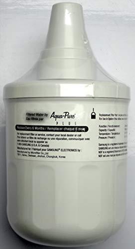 Samsung DA29-00003F Kühlschrank-Wasserfilterkartusche für den Einsatz in System Modellnummer DA97-06317A-B – Grüntönung auf Box – Original Samsung-Ersatzteil