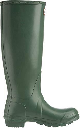 HUNTER Damen Wellington Boots Gummistiefel, Grün (Green HGR), 43 EU