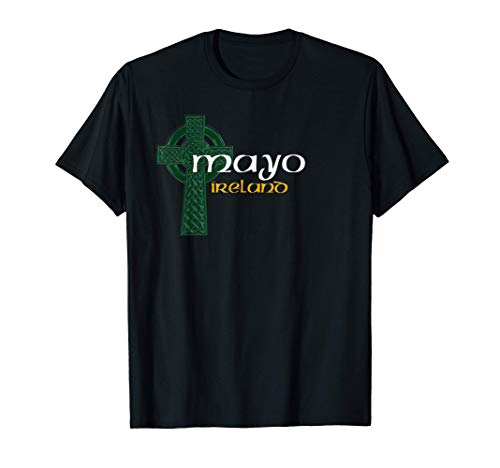 Mayo Ireland County Celtic Gaelic Football and Hurling T-Shirt