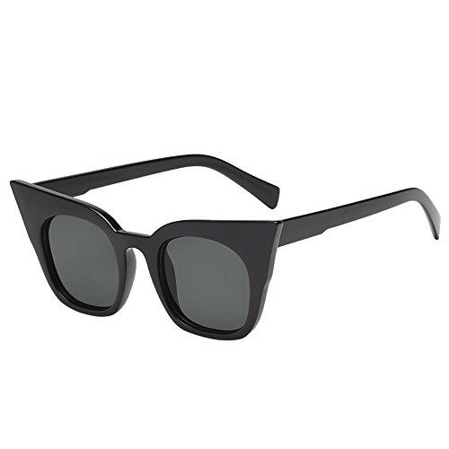 Battnot Sonnenbrille für Kinder Kids Jungen Mädchen, Unisex Vintage Katzenaugen Frame Mode Rapper Shades Anti-UV Gläser Sonnenbrillen Schutzbrillen Retro Billig Cat Eye Sunglasses Eyewear