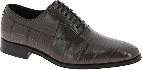 Dolce&Gabbana Scarpe Francesine Coccodrillo Grigio - Codice Modello: CA5751 A2338 80720 - Taglia: 43 EU