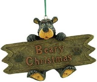 beary christmas sign