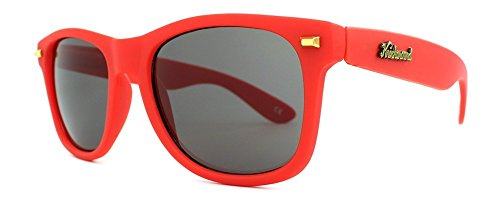 Sonnenbrillen Knockaround Fort Knocks Red / Smoke