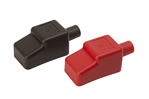 Sea Dog 415115-1 5/8' Battery Terminal Covers - Red/Black, Packaged