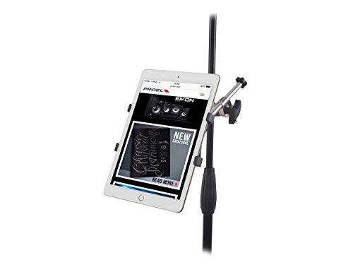 Proel PROIPS04 - Supporto Stand Universale per Smartphone o Tablet con aggancio per asta microfonica (PROIPS04)