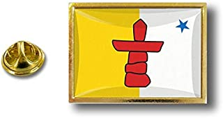 Spilla Pin pin's Spille spilletta Giacca Bandiera Canada Badge Nunavut