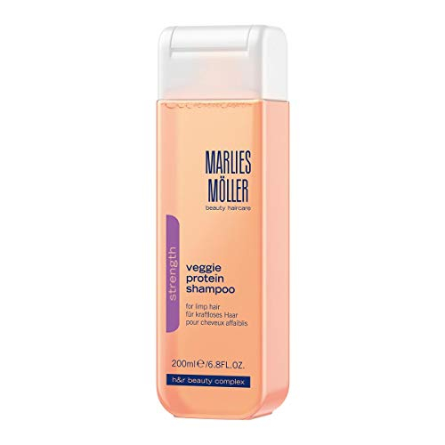MARLIES MÖLLER Strength Veggie Protein Shampoo, 1er Pack (1 x 200 ml)