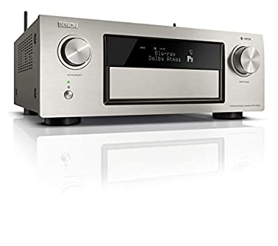 Denon avrx4400h 9.2 Premium ricevitore AV e HEOS Integration (compatibilità Dolby Vision, Dolby Atmos, dtsX, WLAN, Bluetooth, Spotify Connect, 4 K/60Hz 8 Ingressi HDMI, 9 X 200 W)