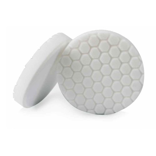 Chemical Guys hexagonale Logic 16,5 cm Blanc Light Medium Polissage Pad Polissage éponge Blanc Ø165 mm