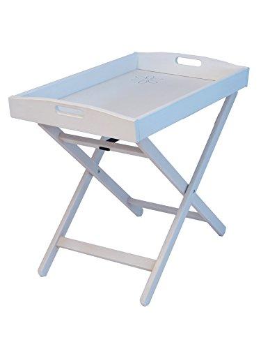 Happy Design - F.lli Del Fabbro Tavolino Vassoio Zeus Bianco