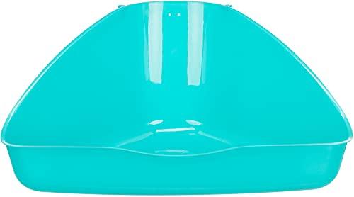 Trixie Toilette d'angle, 45 x 21 x 30 cm (Couleur...
