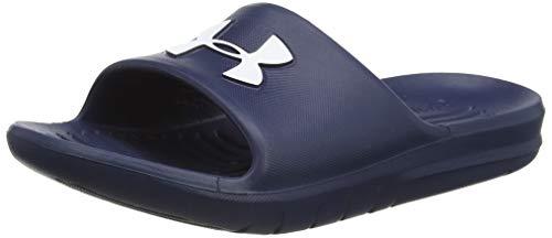 Under Armour CORE PTH Slide Sandal, Academy Blue (400)/Academy Blue, 11