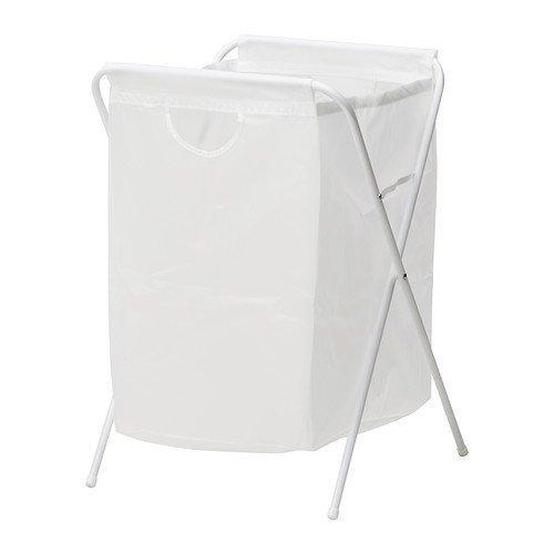 Ikea JALL-- Bolsa de lavandería con soporte, color blanco 70 l, 80 cm