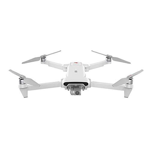 WECDS-E Drone FlyCam Quadcopter, UAV con cámara 4K, cardán de 3 Ejes, Tiempo de Vuelo de 30 Minutos, para Principiantes