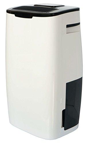 Ardes AR8D17 Deumidificatore SEKKO17 Deumidifica 17Litri al Giorno capacità Serbatoio 3 Litri Display LED con Timer 2 Velocita' di Ventilazione e Turb, Bianco/Nero, 17 L