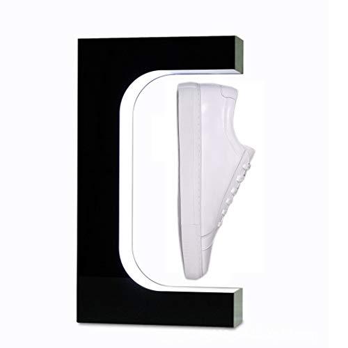 Pantalla de zapato de levitación magnética Pantalla de zapato flotante Lámpara LED floating shoe display levitación magnética Pantalla flotante Pantalla de decoración suspendida giratoria de 360 °