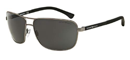 Armani sunglasses for men and women Emporio Armani EA2033 Rectangle Sunglasses For Men+FREE Complimentary Eyewear Care
