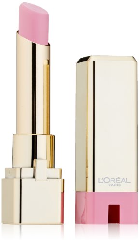 L'Oreal Paris Colour Caresse Lipstick by Colour Riche, Pink Plush, 0.10 Ounces (0.1 Ounce Pure Lipstick)