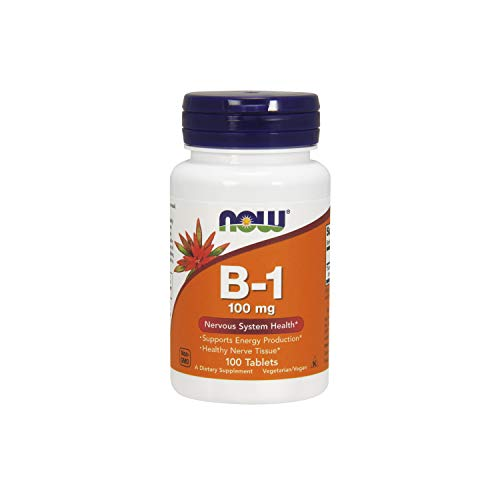NOW 100Mg Vitamina B-1 100 Compresse - 100 g