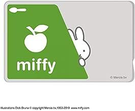 ミッフィー ICカード ステッカー シール ICカードステッカー/グリーン miffy グッズ